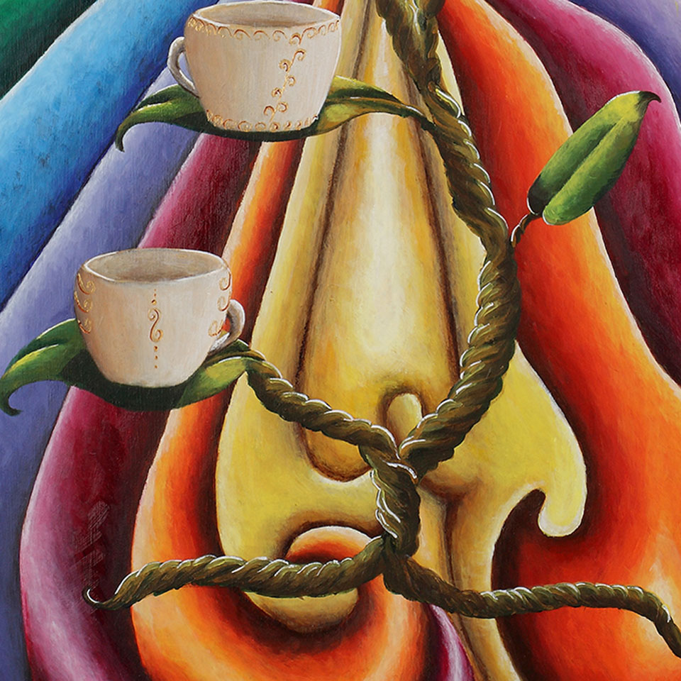 4 of Cups – Martine Blundell