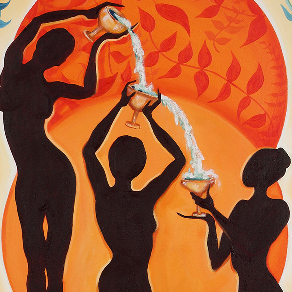 3 of Cups – Jane Longo