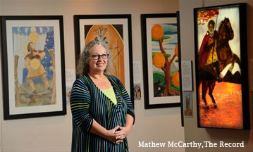 Elora Tarot Deck shows images created by village artists
