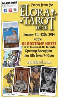 Gladstone Show Opening Reception January 11th, 2014