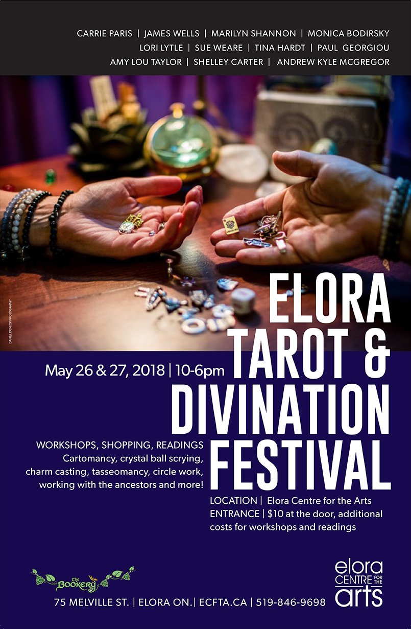 Elora Tarot & Divination Festival, May 26&27, 2018